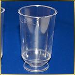 стаканчик пл. Креманка круглая на ножке  50мл (20шт.) прозр.