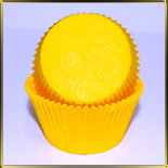 тарталетка дно d50*h30мм желтая ( 100шт.)