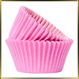 тарталетка дно d35*h22мм розовая (100шт.)