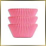 тарталетка дно d30*h24мм розовая (100шт.)