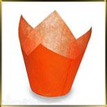 тарталетка Тюльпан d50мм оранж. (50шт.)