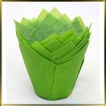 тарталетка Тюльпан d50мм зелен. (50шт.)