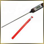 термометр-ручка цифровой -50+300С 105мм