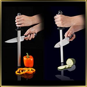 точилки для ножей, мусаты, ножедержатели