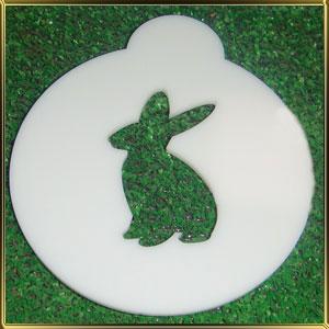 трафарет д/капуччино Кролик