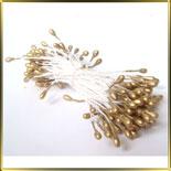 пестики-тычинки перлам. 3мм золотые