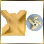 Рогалик/конвертик (1шт.) выемка пласт.