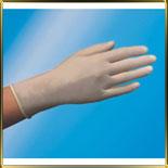 перчатки винилов.  8 (M) с присыпкой 100шт./уп.